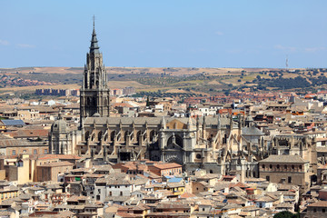 Cathedral of Saint Mary of Toledo. Castilla-La Mancha, Spain