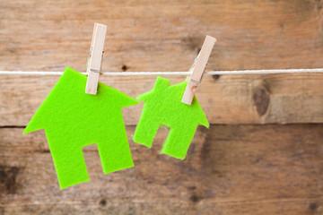 Green eco houses