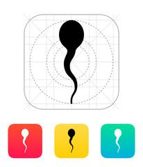 Spermatozoid icon.