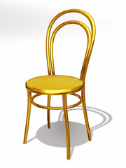 golden bistro Chair