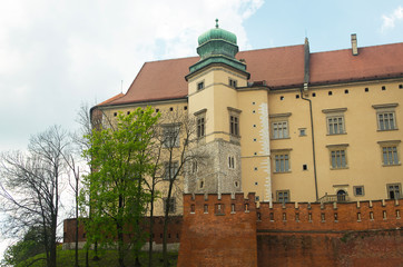 Wawel Castle in Krakow.