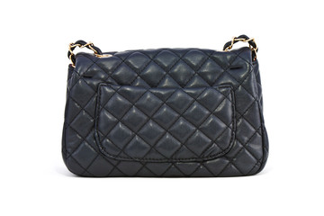 Black leather women luxury bag