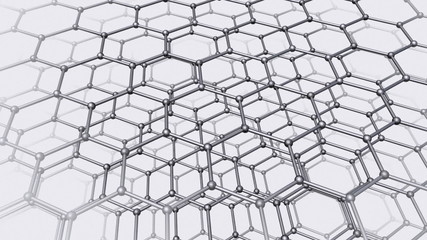 Nanotube structure seamless 3d animation