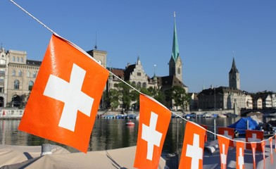Schweiz Nationalfeiertag 1. August