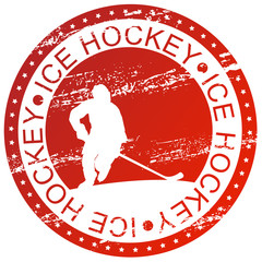 Sports stamp - Ice Hockey
