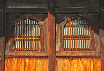 The windows of Nanzenji temple