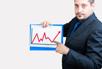 Statistik Mann Analyse Erfolg