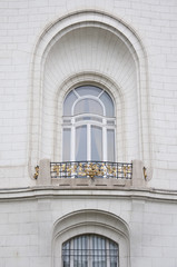 Detail from the building of French embassy in Vienna