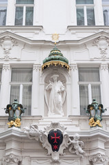 The house of the Knights of the Cross with the Red Star, Vienna