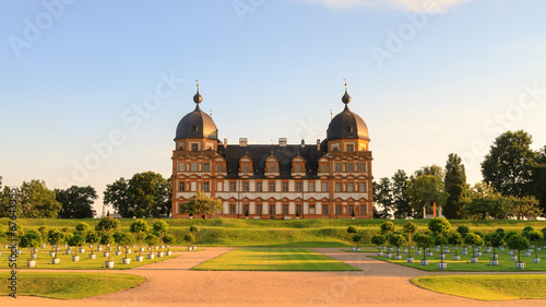 canvas print picture Chateau Seehof