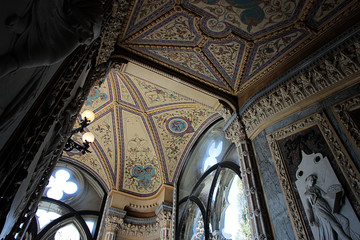 Interior view of Franchetti palace, venice