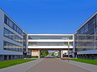 Bauhaus, complex of modern architecture, Dessau, Germany. UNESCO