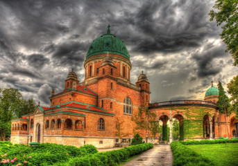 Church of Christ the King in Mirogoj Cemetery - Zagreb, Croatia