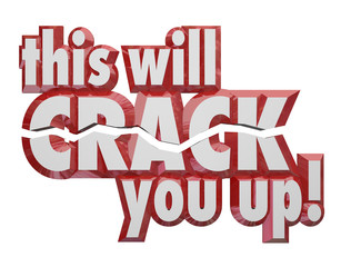 This Will Crack You Up 3d Words Jokes Humor Comedy