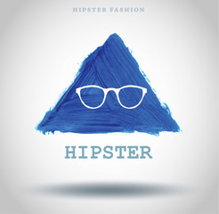 Vector Illustration fashion Hipster