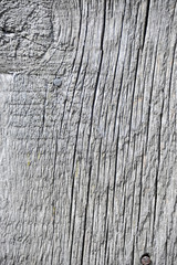 Shot of old wooden textured background, close up