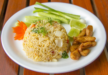 Chicken Fried Rice - Fried rice with chicken