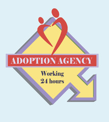 Sign adoption agency