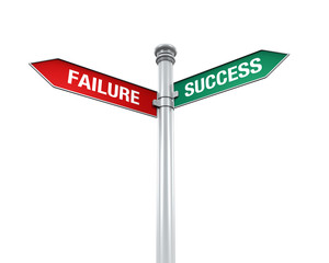 Sign Direction of Success and Failure