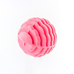 Pink washing ball, plastic balls.