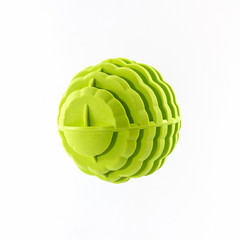 Green washing ball, plastic balls.