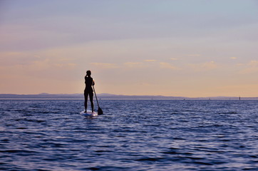 Stand up paddling, SUP