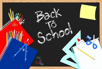 backt o school vector