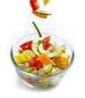 bowl of fresh vegetables