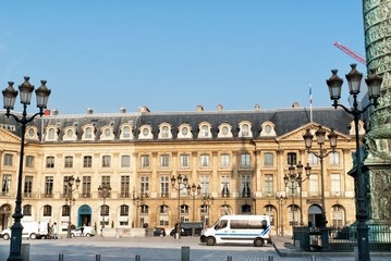 Vendome square in Paris