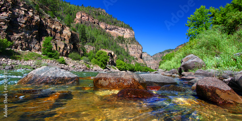 Colorado River Glenwood Canyon - 67651781