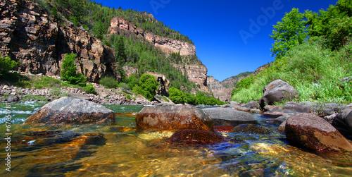 Foto op Canvas Rivier Colorado River Glenwood Canyon