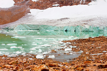 Jasper National Park Glacial Lake