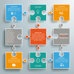 Colored Paper Puzzles Flowchart
