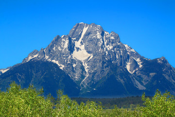 Mount Moran Grand Tetons