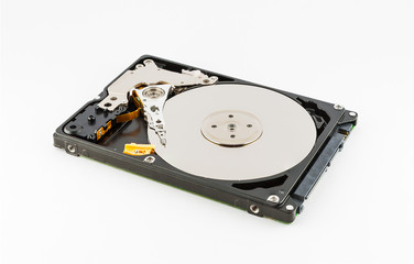 Inside 2.5 Inch Laptop Hard Drive