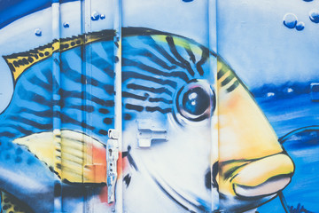 Graffiti poisson