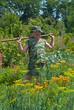 Gardener with hoe 8