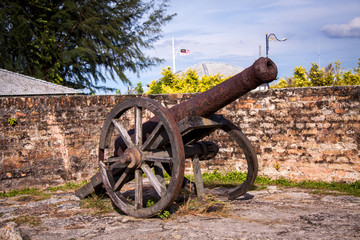 Old nineteenth century cannon