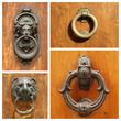 antique door knockers collection