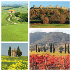 Bella Toscana  - collage