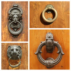 antique door knockers collection