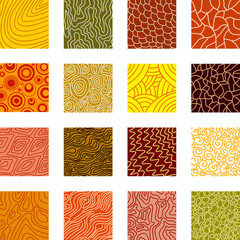 Vector textured backgrounds