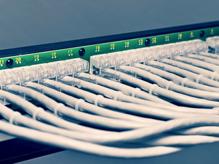 patch panel of the 6th category