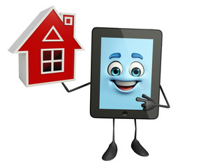 Tab Character with home