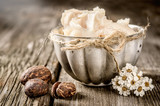 Shea butter and nuts