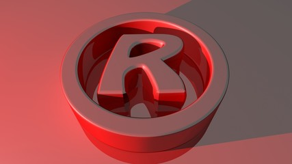 Rights Reserved Symbol