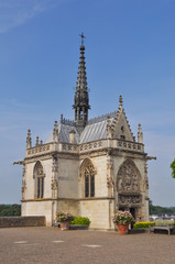 Saint Hubert chapel at Royal Chateau at Amboise