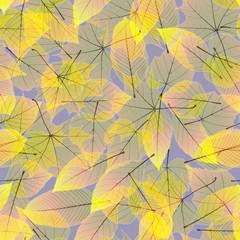 Colorful autumn leaves. plus EPS10