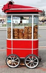 Istanbul Street Food: Simit