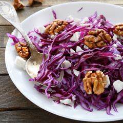 crispy salad with cabbage